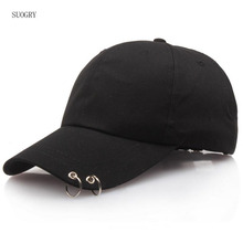 SUOGRY Hot Selling 2018 LIVE THE WINGS TOUR Fashion K POP Iron Ring Hats Adjustable Baseball cap 100% Handmade Ring hot selling 2018 bts live the wings tour fashion k pop iron ring hats adjustable baseball cap 100