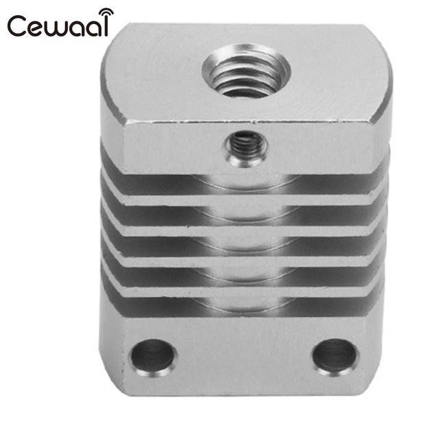 Exquisite Heat Sink Office Mk10 Extruder Pipe Modeling Portable Aluminum Block Printers