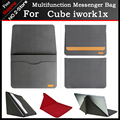 "New design high quality PU Sleeve Bag Pouch For Cube iwork1x 11.6"" Tablet PC,Portable magnetic stand bag for cube iwork1x"