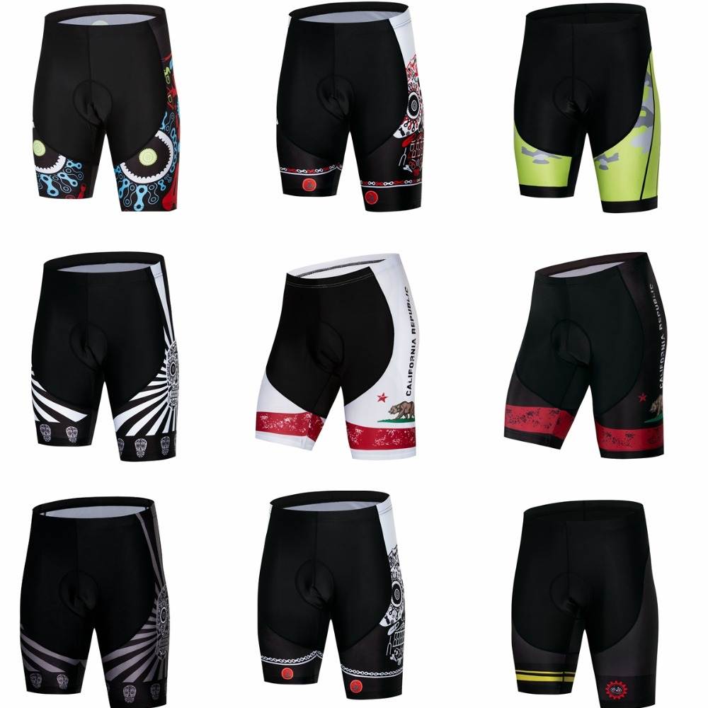 Men's Cycling Shorts MTB Bike Bicycle 3D Padded Gel Tights Shorts Summer bermuda ciclismo Shockproof Cycling Wear Ropa Ciclismo