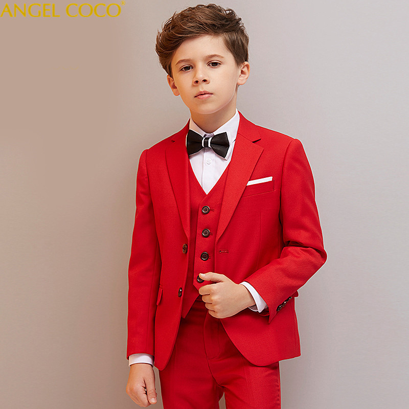Boys blazers kids Boys suits for weddings Prom Suits Wedding Dress for Boys Kids tuexdo Children Clothing Set Blazers for Boys