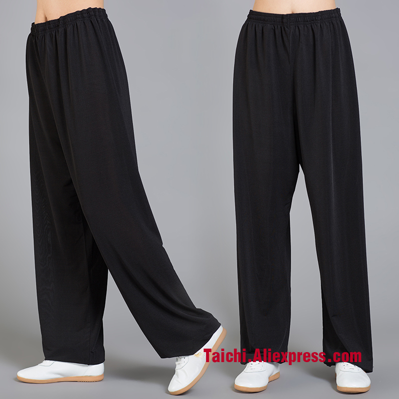 Icesilk Tai Chi Pants  Yoga  Pants Wu Shu  Pants,,Kung Fu Trousers /martial Art Pants