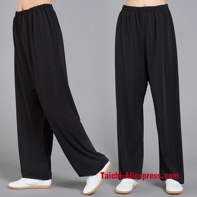Icesilk Tai Chi Pants  Yoga  Pants Wu Shu  Pants,,Kung Fu Trousers /martial Art Pants