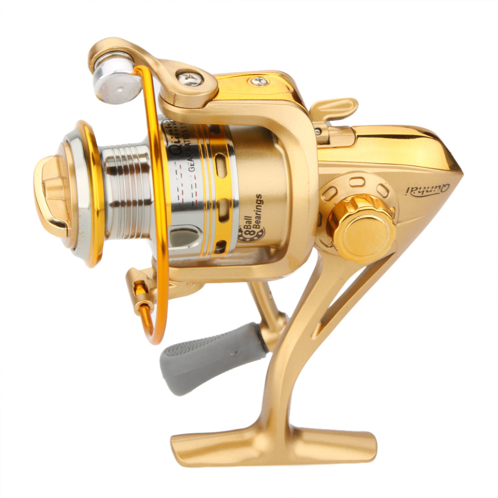 Inventive Spinning Fishing Reel Metal Spinning Reel Fishing Line Tackle Wheel Ll200 Oi Sporting Goods Fishing Equipment