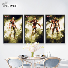 Marvel Comics Wall Art Canvas Posters And Prints Iron Man Mark 4 7 The Avengers For Unique Gift Party Decor Home