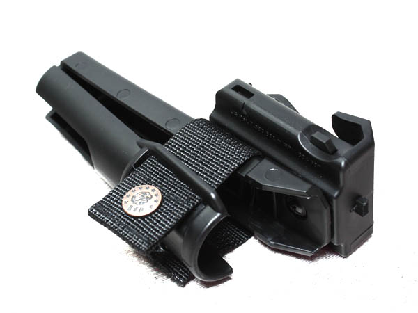 Tactical batons ASP holster / leather bar mount (large)