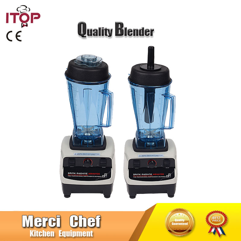 Food Machine US/UK/EU plug Heavy Duty Commercial Blender Juicer Fruit And Vegetable Mixer Grinder Electrical Food Processor commercial blender mixer juicer power food processor smoothie bar fruit electric blender ice crusher