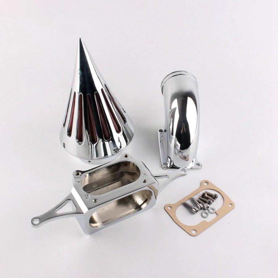 Filtre de filtre à Air de pointe pour Yamaha Road Star guerrier 2002-2006/minuit guerrier 2002-2006 pièces de Moto 1 Kit d'admission Chrome