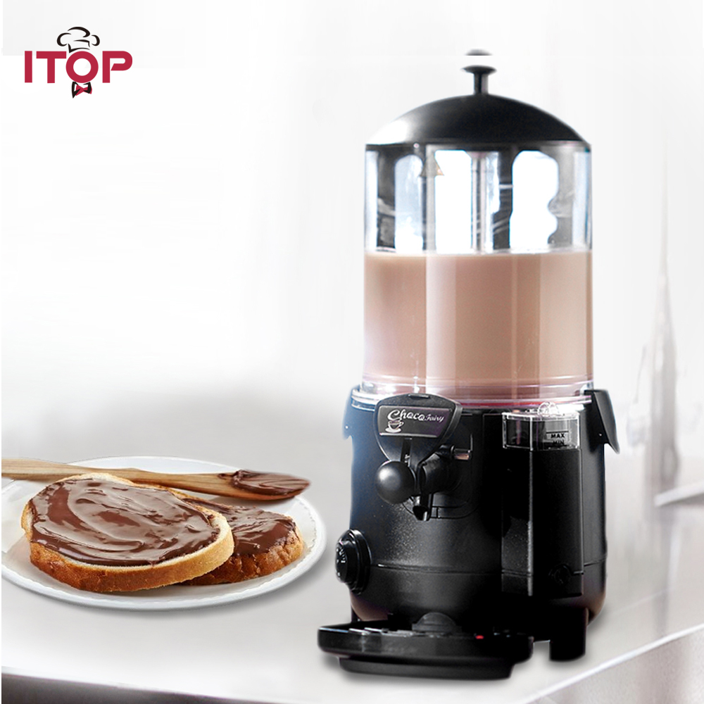 ITOP 5L/10L Hot Chocolate Dispenser Commercial Machine Perfect for Cafe, Party, Shop and Small Bar Baine Marie цена