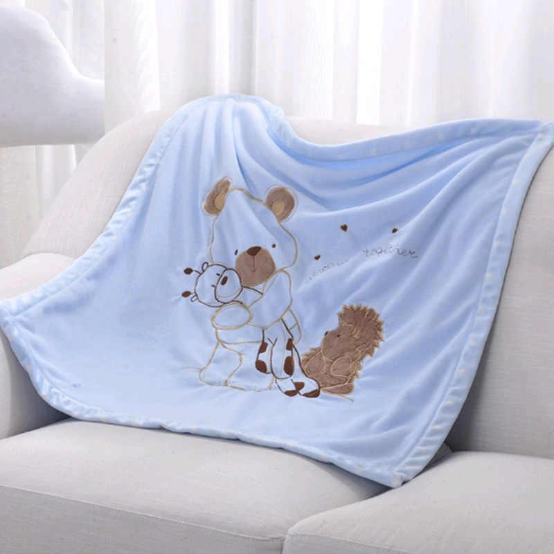 ソフト新生児毛布暖かいフリースベビーカーカバー幼児の寝具キルト睡眠おくるみラップ子供バスタオルおくるみラップ