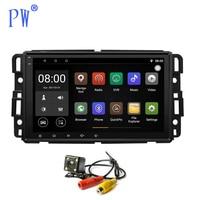 Android 7,1/8,0 Автомобильный мультимедийный навигация GPS радио для Buick Enclave GMC Yukon TAHOE Acadia Chevrolet 2007 2012 радио плеер