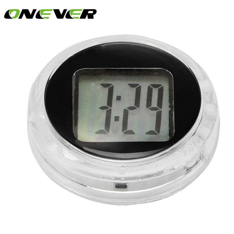 "1.1 ""Universal Motorcycle Clock Watch Waterproof Stick-On Motorbike Digital Clock"