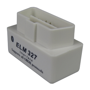 Image 2 - Mini Elm327 Bluetooth Obd2 Car Diagnostic Scanner For Android Elm 327 V2.1 OBDII elm 327 Obd 2 White Auto Code Diagnostic Tool