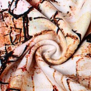Image 4 - [VIANOSI] Brand Scarf Winter Women Scarf Female Wool Printing Shawl Best Quality Cashmere Studios Warm Woman Wraps VA063