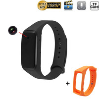 HD 1080P Bracelet Camera With An Extra Wristband Mini Camcorder DV DVR Video Audio Recorder Sport