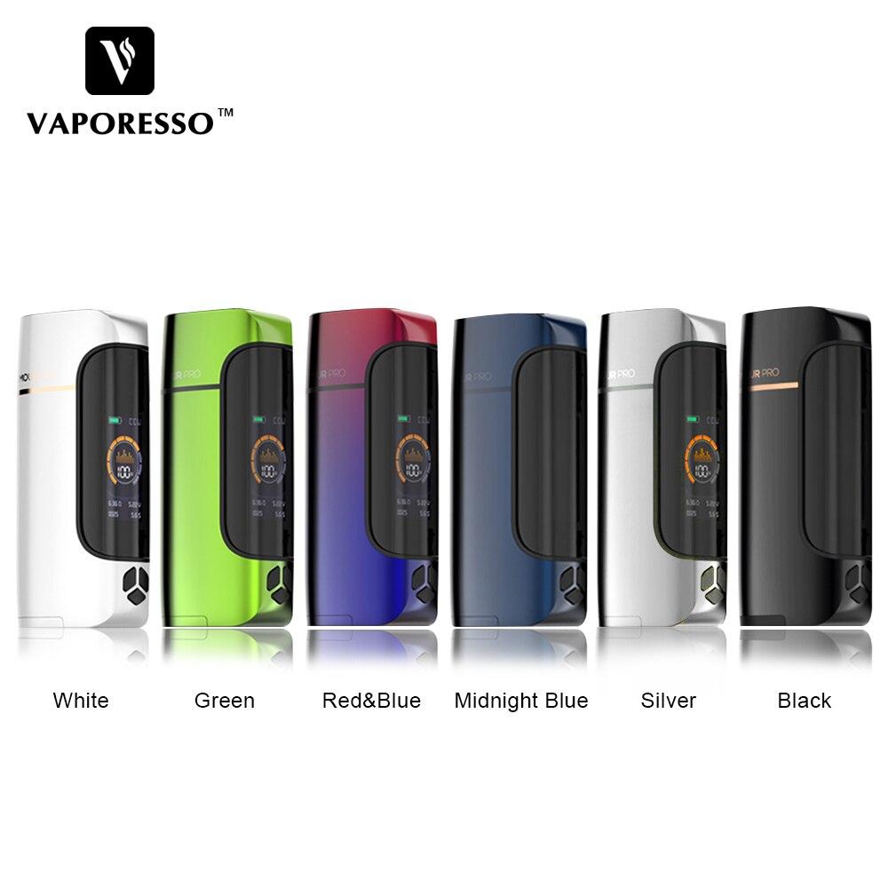 E-Cigarette Original Vaporesso 100 W armure Pro TC Vape boîte Mod fit Cascade bébé réservoir GT maille bobine VS Vaporesso Swag Vape
