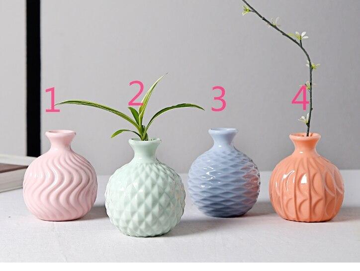 Stampo in silicone gel silice 3d piccolo vaso fresco mini-decorazione - Cucina, sala da pranzo e bar