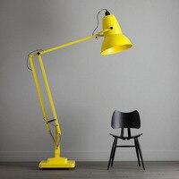 Modern Classic Floor Lamp Nordic Lobby Villa Black Red Yellow Green Floor Adjustable Floor Lamp LED