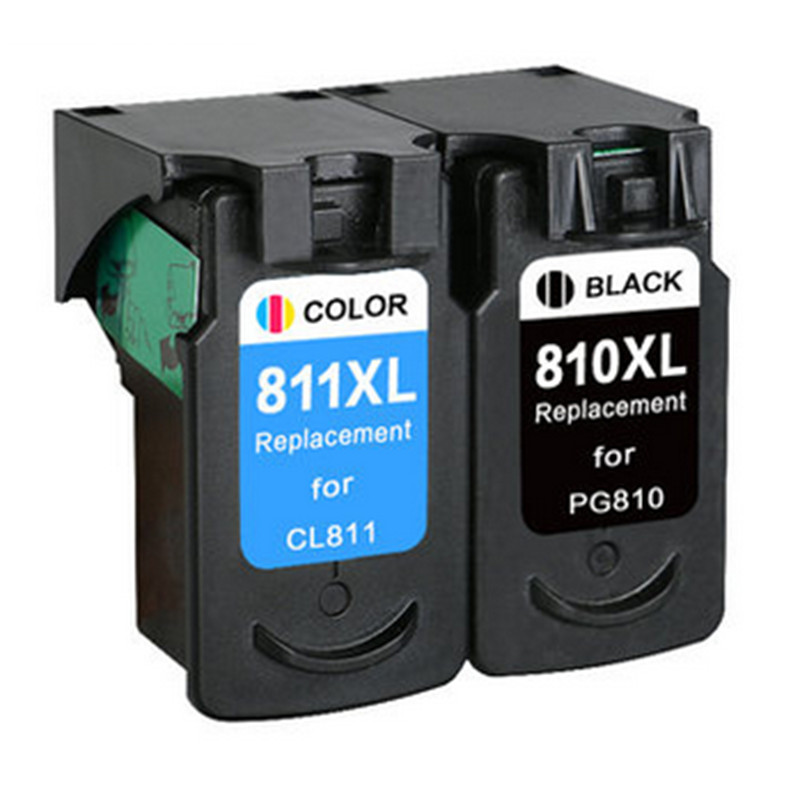 hisaint Hot For Canon PG-810 CL-811 Ink Cartridge for Canon MP245 MP258 MP268 MP276 MP486 Ink jet Printer 810XL 811XL image