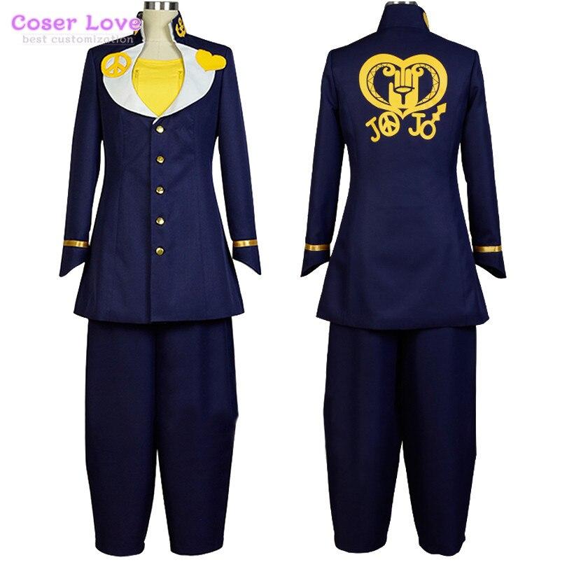 Online Shop Jojo\'s Bizarre Adventure Kira Yoshikage Cosplay Costume ...