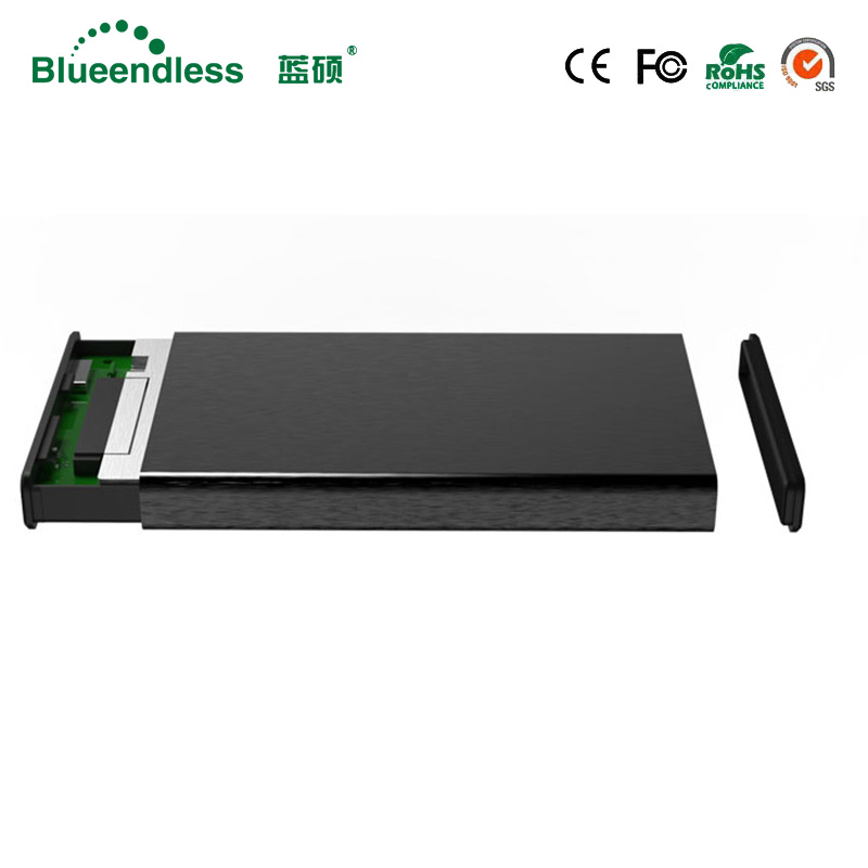 6Gbps 2.5 hard disk usb 3.0 sata aluminum hdd 2.5 usb 3.0 case high quality hdd enclosure cable sata 3.0 for hard disk enclosure 2 5 inch sata external storage hdd enclosure box hdd case sata to usb 3 0 hard drive disk with usb cable faster transfer rate