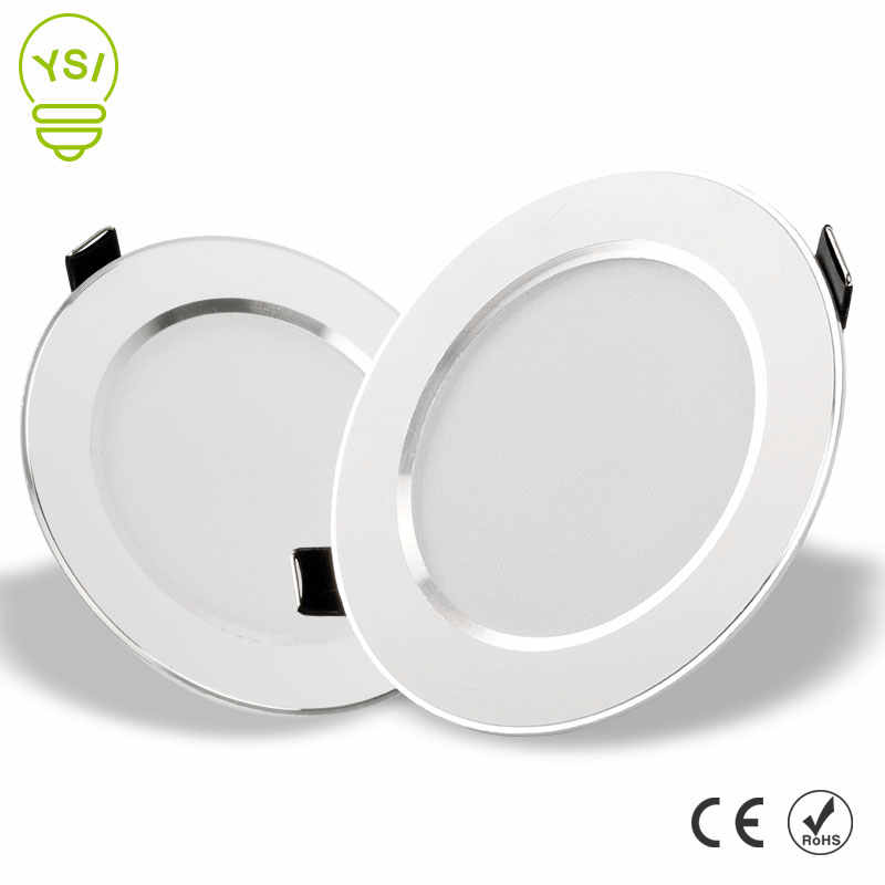 LED Downlight 3W 5W 7W 9W 12W 15W Round Recessed Lamp 220V 230V 240V Led Bulb Bedroom Kitchen Indoor LED Spot Lighting