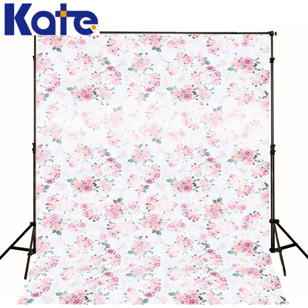 Kate Happy Birthday Theme Photography Studio Backdrop Small Floral  Photo Booth Backdrop  For Children сумка kate spade new york wkru2816 kate spade hanna