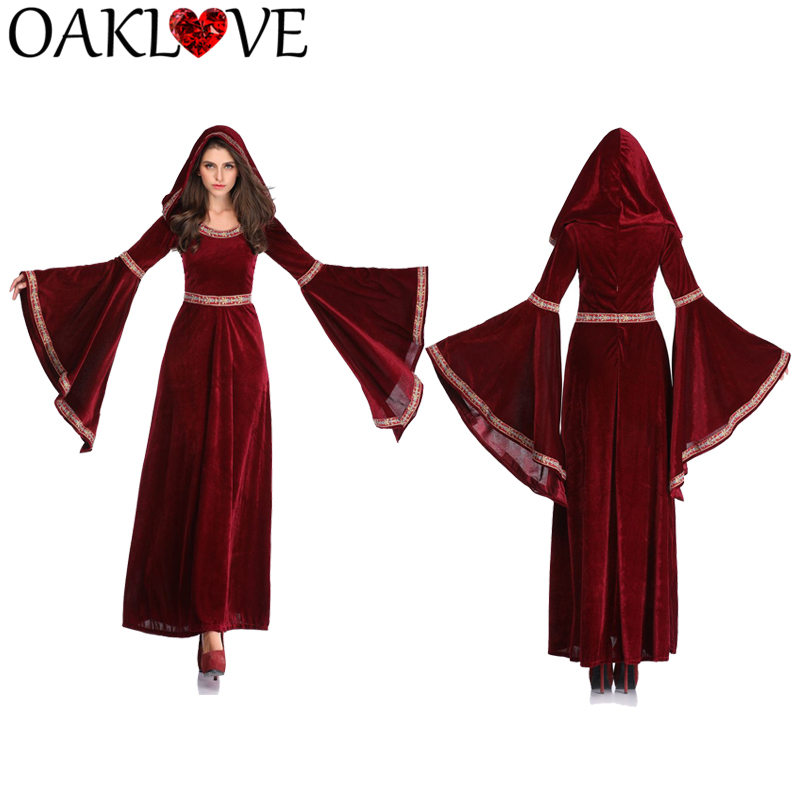 Retro Court Hooded Dress  (9)