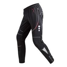 Мужские штаны для велоспорта, спортивные штаны, ветрозащитные теплые флисовые зимние штаны для велоспорта, дышащие спортивные штаны для езды на велосипеде