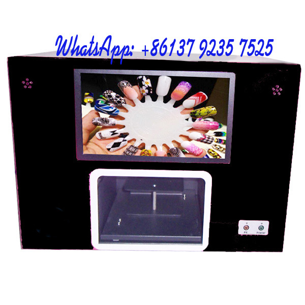 2015 top selling nail printer machine can print 5 hand nails or 12 ...