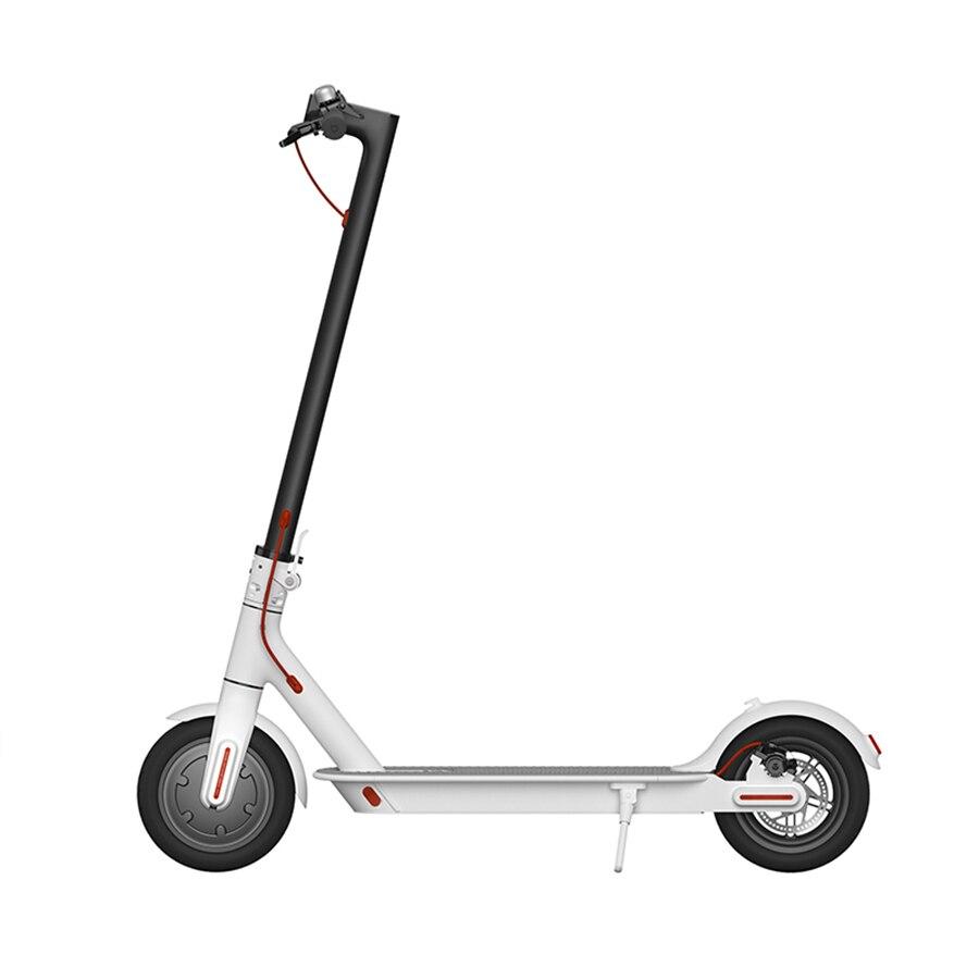Original XIAOMI QICYCLE SCOOTER électrique pliant portable mini loisirs 8.5 pouces 250 w moteur intelligent scooter cinétique récupération d'énergie - 2