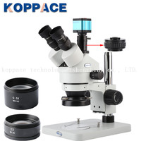 3.5X 90X Stereoscopic Microscope 14MP Full HD 1080P 30FPS HDMI Electron Industry Digital Microscope Camera Mobile phone repair