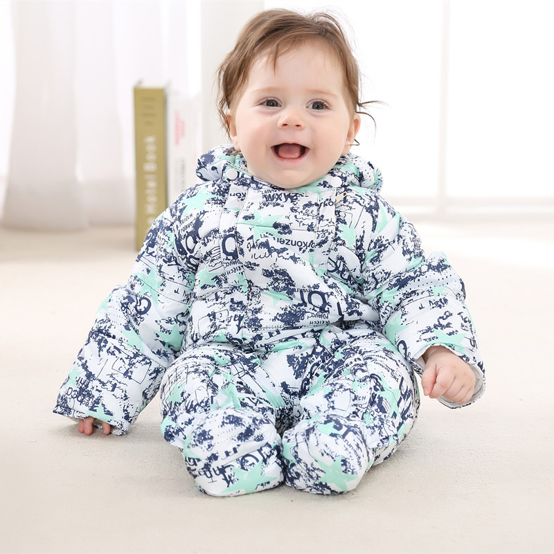 Baby Rompers Winter Thick Climbing Clothes Newborn Boys Girls Warm Romper Sweater Christmas Hooded Outwear 0 9months autumn winter baby girls boys rompers cartoon cute thick warm hooded jumpsuits newborn clothes infant clothing bc1225