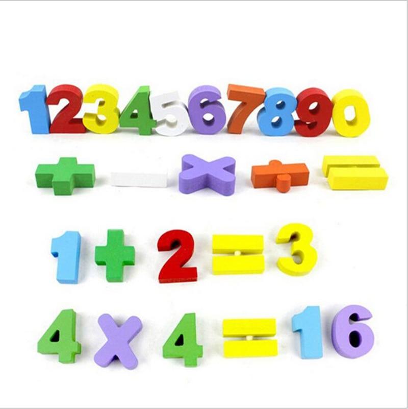 Сосновая Многофункциональный математика обучения коробка для образования детей разведки develping игра-головоломка Игрушечные лошадки подаро...