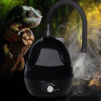 Reptile Spray Humidifier Mister Fogger with Extension Tube for Amphibians Terrariums