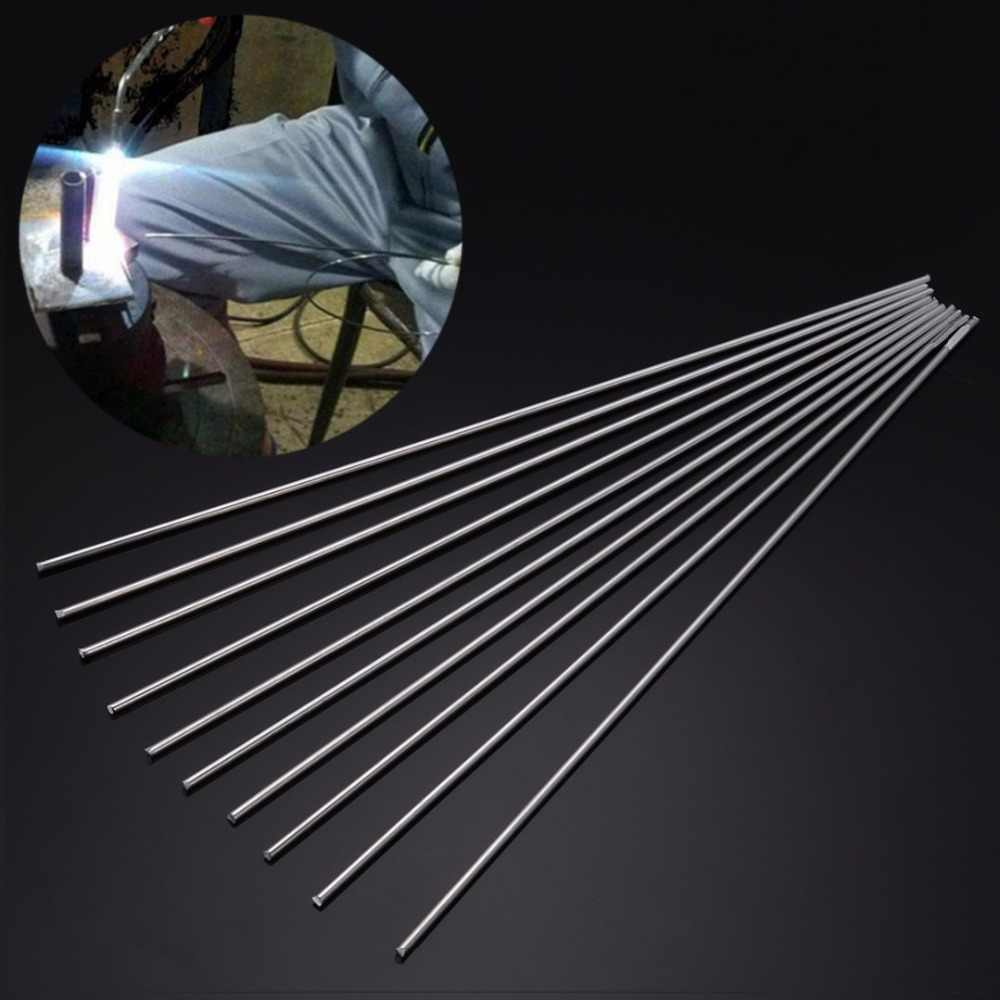 10 шт. низкотемпературный сварочный стержень из алюминиево-магниевого серебра, сварочные палочки 2 мм x 450 мм