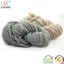100% merino wool super chunky yarn oeko tex quality, 220g hanks pure merino wool yarn chunky wool for blankets(China)
