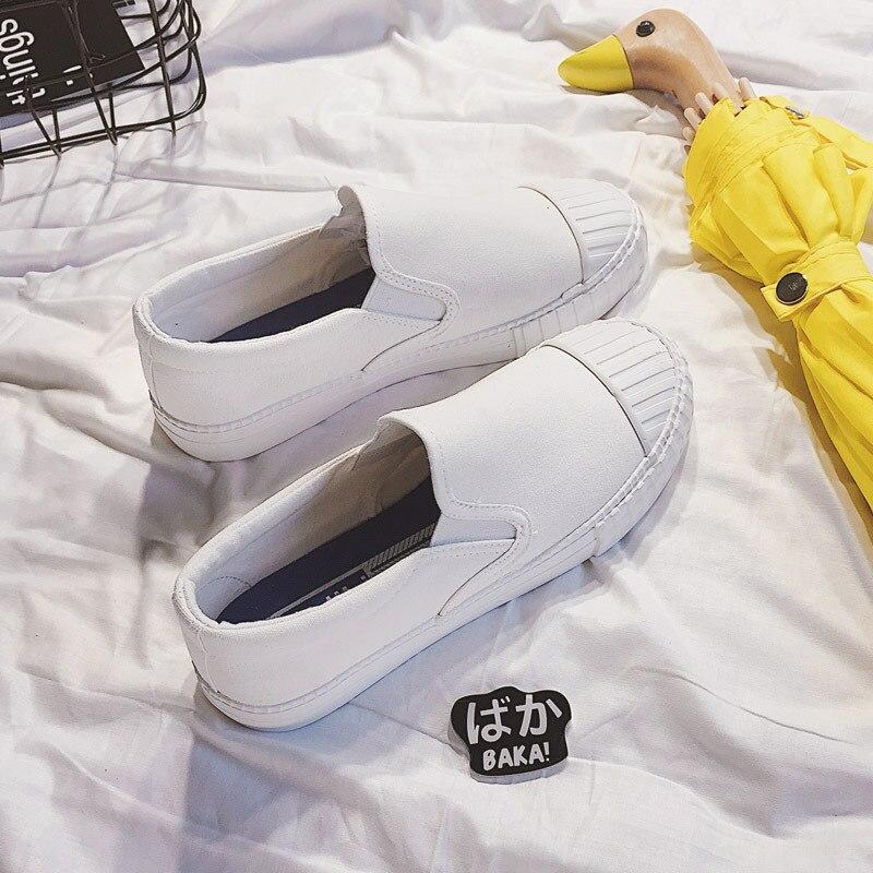 Sauvage Mode Chaussures Toile Blanc 2 Nouvelle Casual Plat 2017 Coréenne 1 Et En Printemps 3 Été 4L3Rjc5AqS