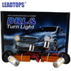 2pcs Lot 2015 New Arrival 15W LED Daytime Running Light With The Function Of Turn Signal