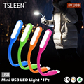 TOP!04 TSLEEN adjusting angles mini usb led light for power bank/adapter/car charger/laptop