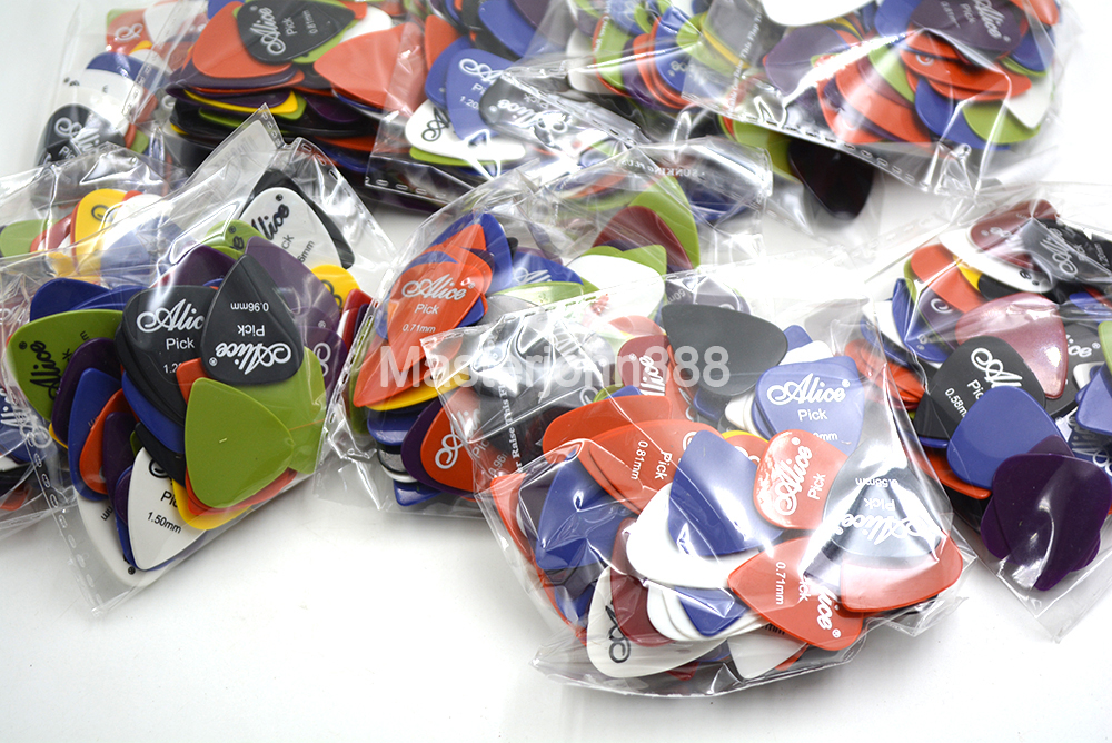 Thousand of Alice Electric Acoustic Guitar Picks Plectrums 6 Thickness Assorted Wholesales Free Shippng