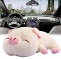 2016 nuevos accesorios del coche del cerdo encantador fresco purificador de aire de carbón activado bolsa de carbón de bambú bolsa de juguetes el envío libre