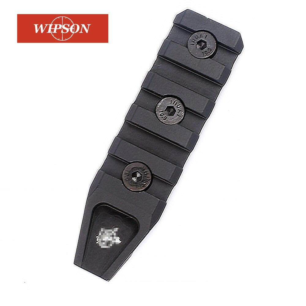 WIPSON Chasse Accessoires 5 Slots Keymod Rail Handguard Rail Pour URX 4.0 Quad Rail