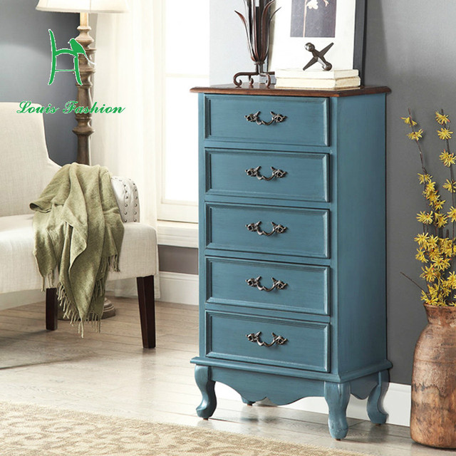 American bedroom chest of drawers The Nordic porch European style