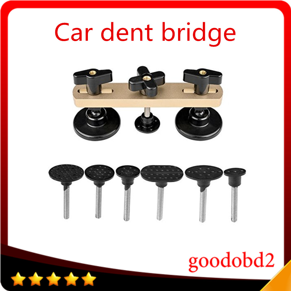 The Cheapest Price Diy Car Body Repair Tool Pdr Paintless Dent Car Repair Tools Newly Design Pulling Bridge Dent Removal 7x Tabs For Vw benz Audi