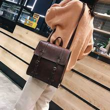 купить Women Shoulder Bag Fashion Women Handbags Oil Wax Leather Large Capacity Tote Bag Casual Pu Leather women Messenger bag 7820 по цене 2088.18 рублей