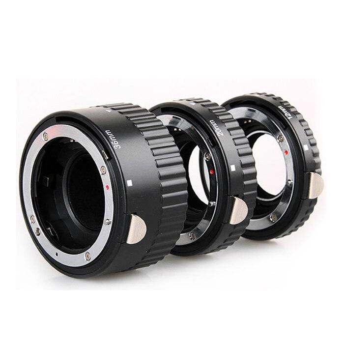 Tube d'extension Macro AF à montage automatique en métal pour Nikon D3200 D3300 D5200 D5300 D5500 D7000 D7200 D90 D800 D700 DSLR