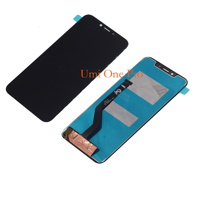 5.9 100% brand new original display For UMI umidigi One Pro LCD display touch screen digital converter replacement kit +tools