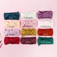 100 pcs/lot , Sailor Knot Nylon Headbands, Braided Nylon Headwraps, One Size fits most 27 colors