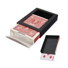 1 шт. Deck Vanish Poker набор карт чехол маг магии реквизит трюк игральные карты, настольные игры+ пластиковая коробка